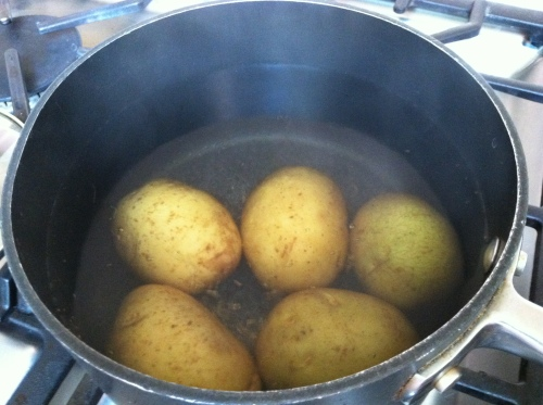2013-07-01 potatoes in pot