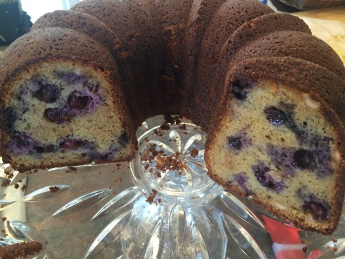 Blueberry Shirley cake 2